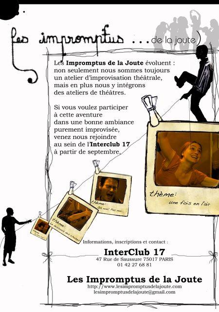 Les Impromptus de la Joute 2009-2010