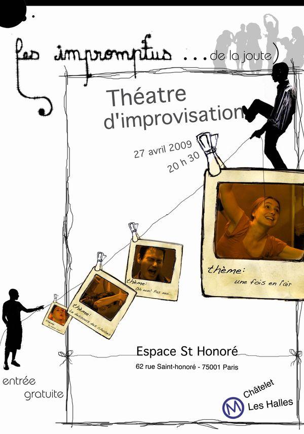 Les Impromptus de la Joute à l'Espace Saint Honoré | 27 Avril 2009