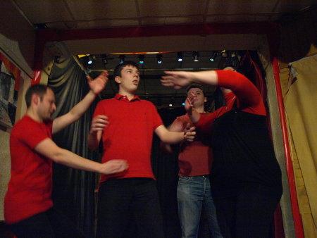 Les Impromptus de la Joute à l'Espace Saint Honoré | 19 Janvier 2009